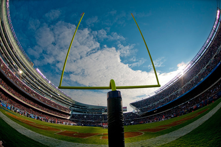 Photograph Soldier Field Fisheye by Scott Kelby on 500px