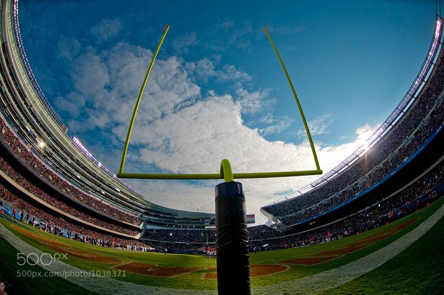 Photograph Soldier Field Fisheye by Scott Kelby on 500px