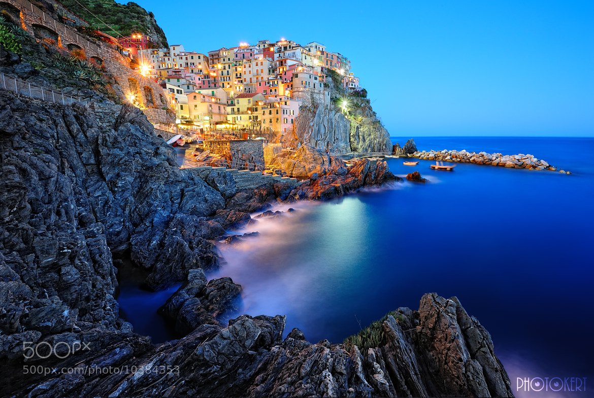 Photograph Evening in Manarola by Roman Rodionov on 500px