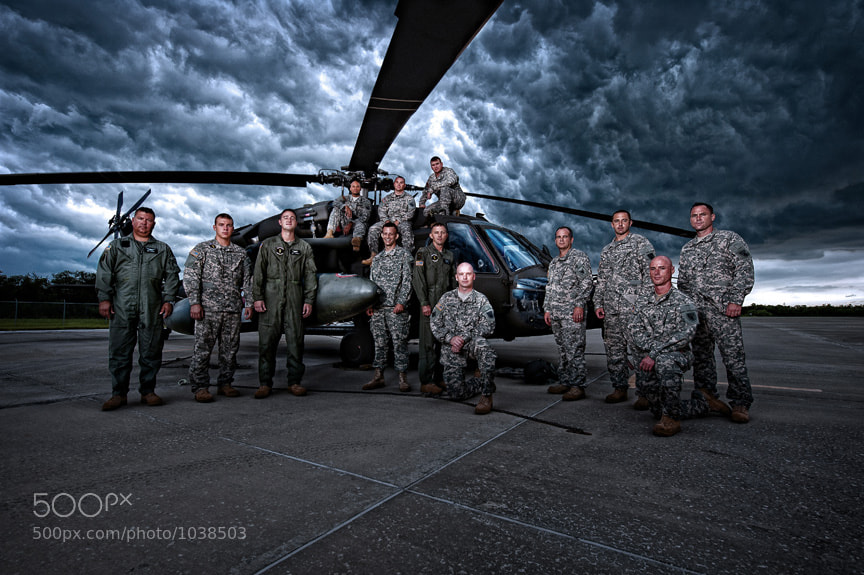 Photograph US Army Blackhawk Rescue Team by Scott Kelby on 500px