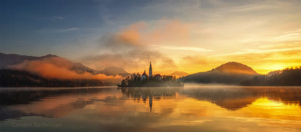 Bled in autumn by carsten bachmeyer