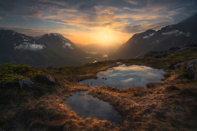 Bird's View by Ole Henrik Skjelstad