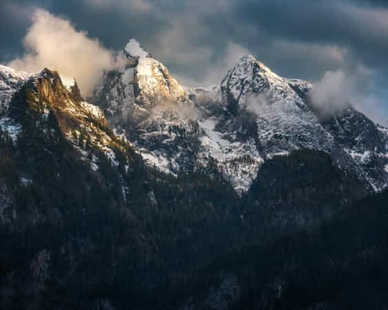 Moody Peaks by Daniel Gastager