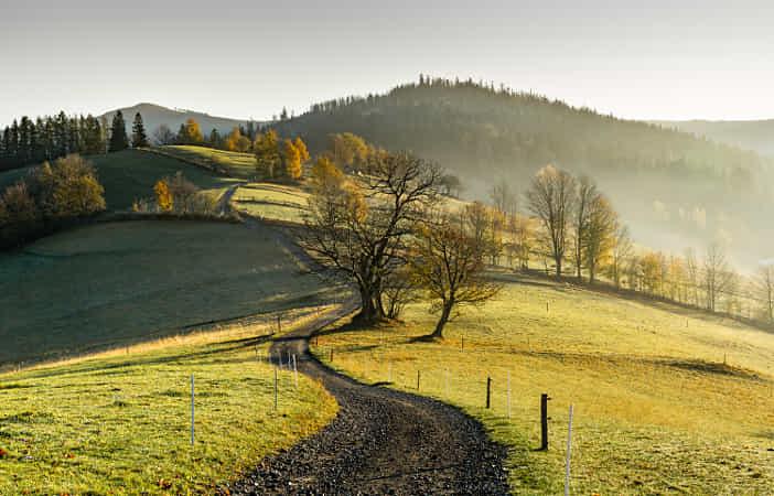 Rural scenery by Marcin Sz