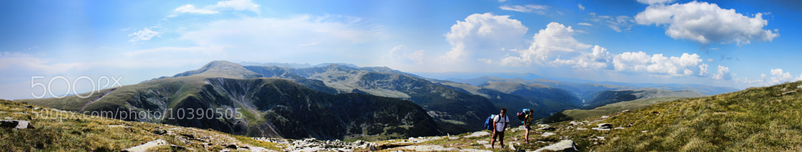 Photograph Parang Mountains Panorama by Cosmin Marinchescu on 500px