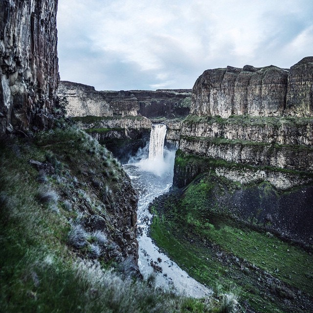 Photograph palouse falls. washington. I've been MIA in Wallowa County Oregon exploring. Here's a photo from Mon by Tanner Wendell Stewart on 500px