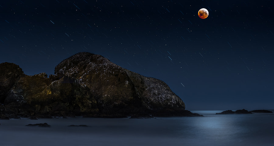 Photograph GGNRA Bird Island Eclipse by Randall Smith on 500px