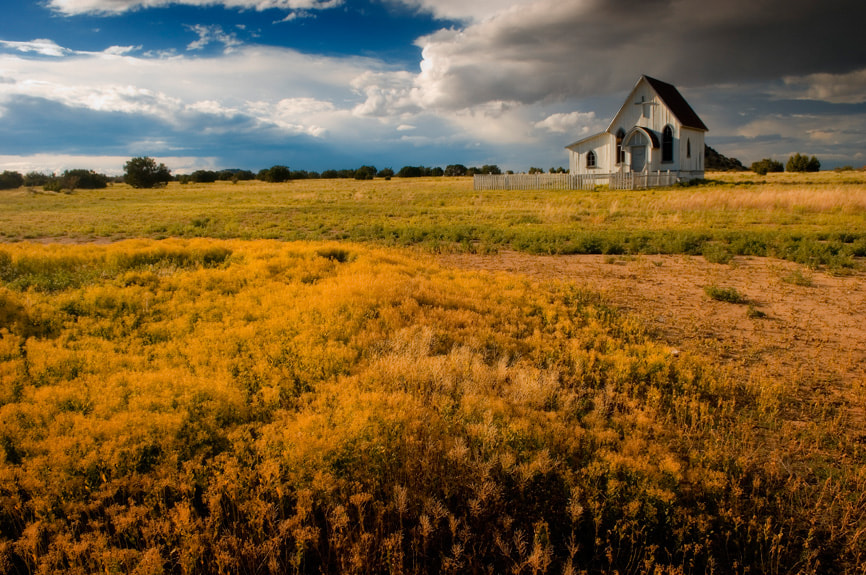 Photograph Santa Fe Church House by Scott Kelby on 500px