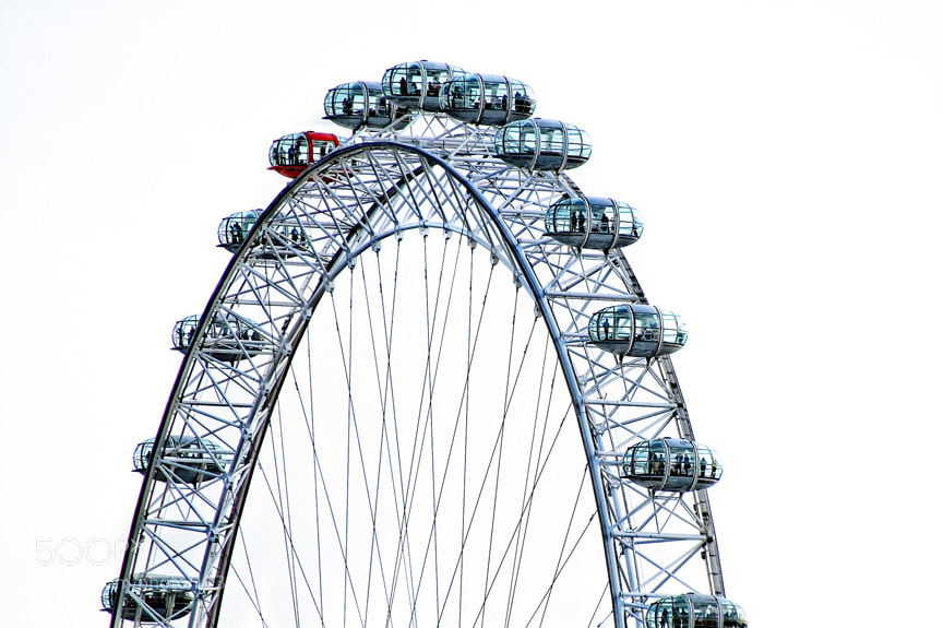 Photograph The London Eye by Scott Kelby on 500px
