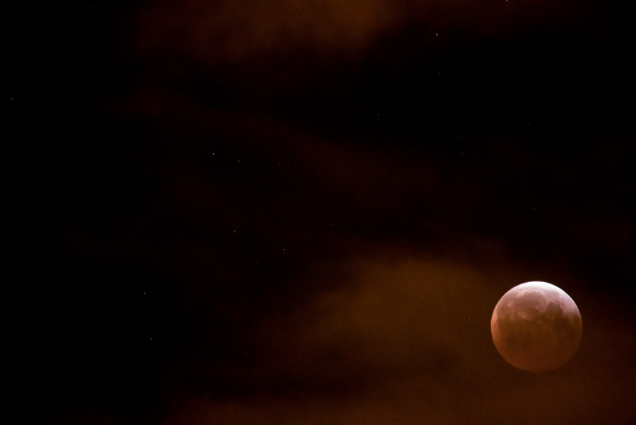 Photograph Blood Moon - part 3 end by Gord Rufh on 500px