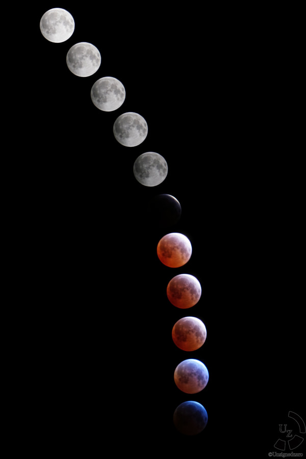 Photograph Blood Moon by David (??) Tran (?) on 500px