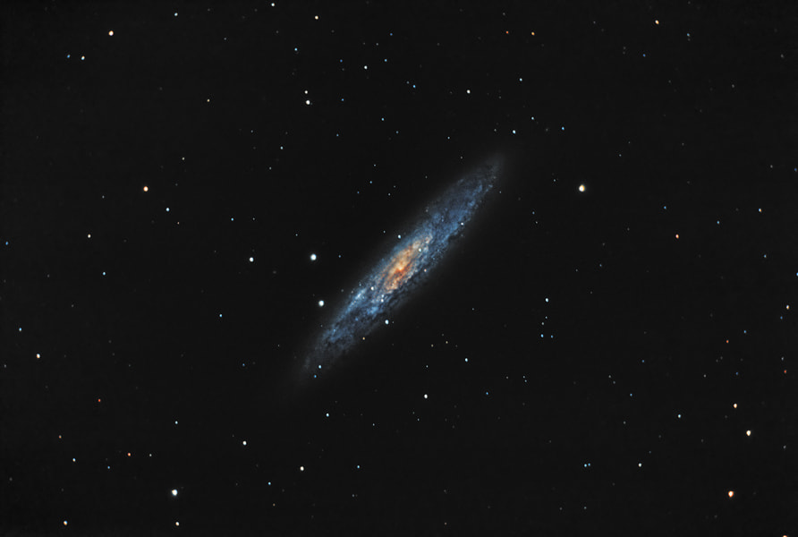 Photograph Sculptor Galaxy by Rafael Defavari on 500px
