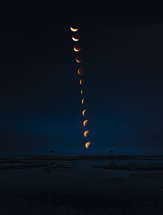 Photograph The Blood Moon by Rizki Mahendra on 500px