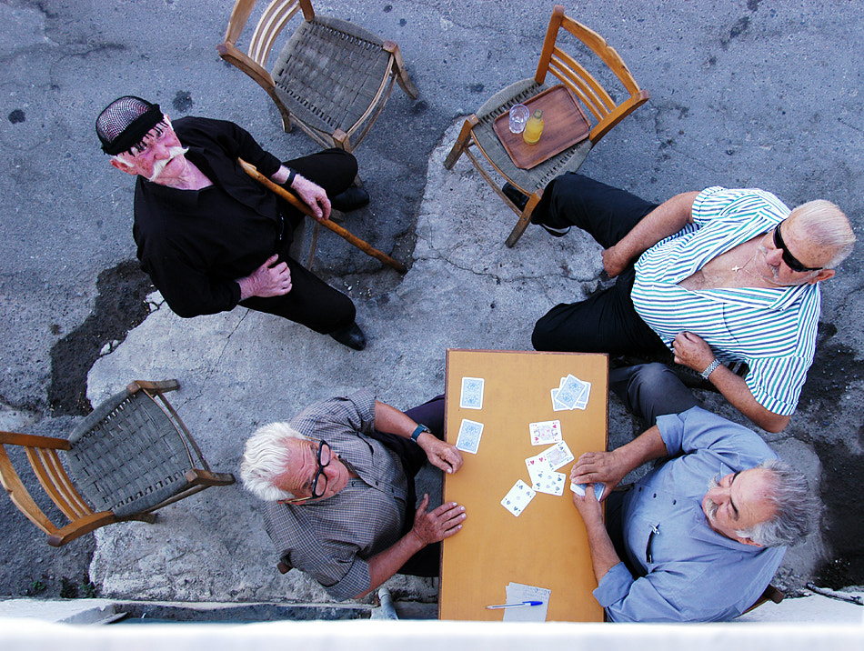 Photograph Card players by Ioannis Gousgounis on 500px
