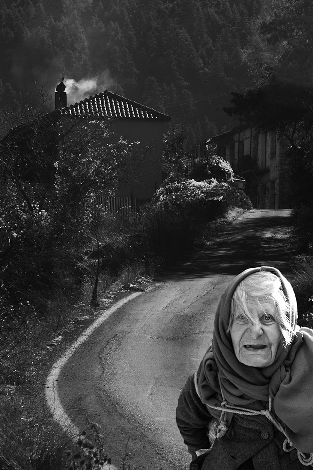 Photograph The last villager by Ioannis Gousgounis on 500px