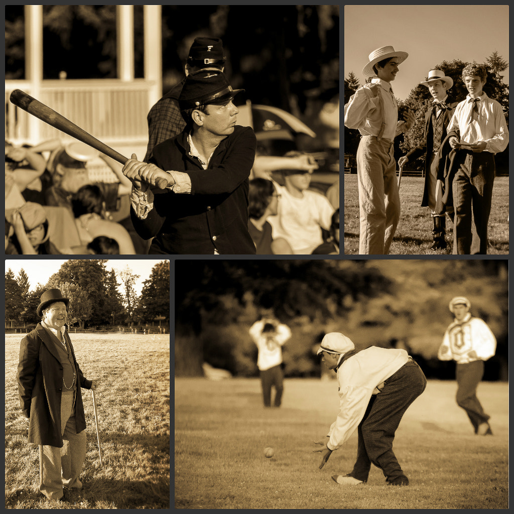 Photograph 1860's Basball 2 by Mark Bergeron on 500px