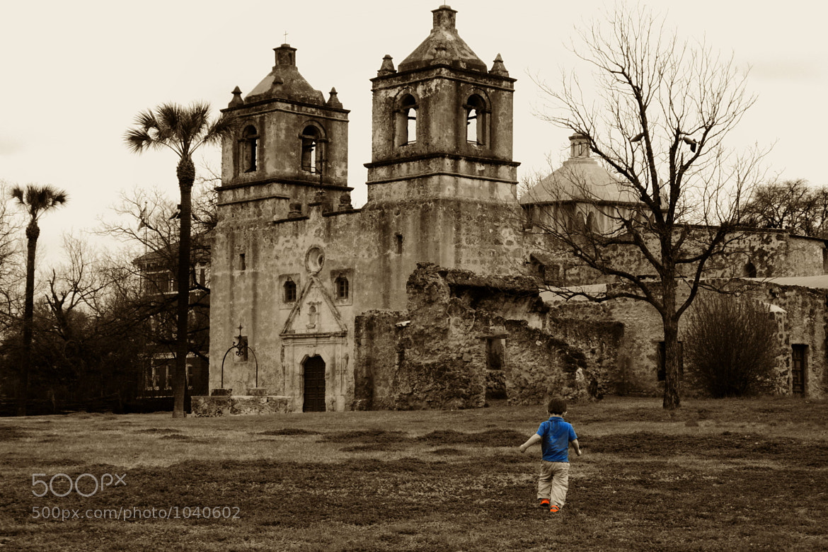 Photograph Boy at Mission Concepción by Just in Musing on 500px