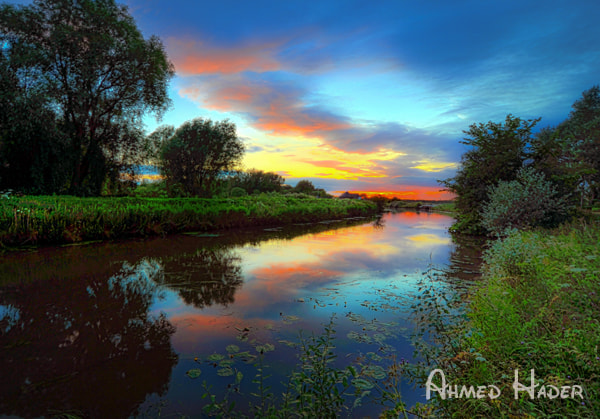 Photograph Beautiful colors of the sunset by Ahmed Hader on 500px