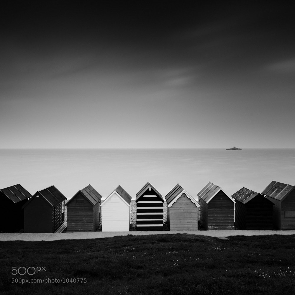 Photograph Herne Bay Huts by Gavin Dunbar on 500px