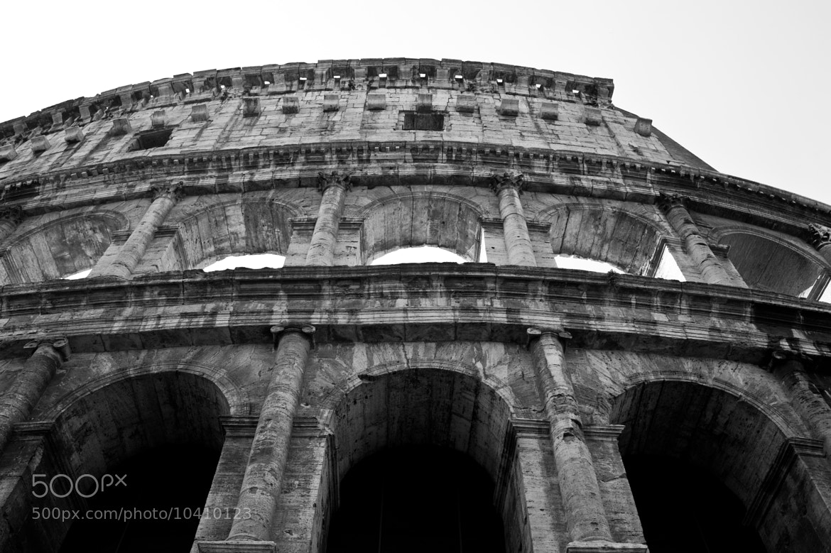 Photograph Colliseum by Wyatt Lam on 500px