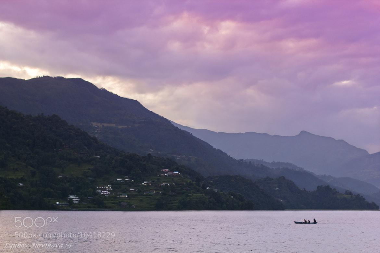 Photograph Evening on Lake Phewa by Lyubov Novikova on 500px