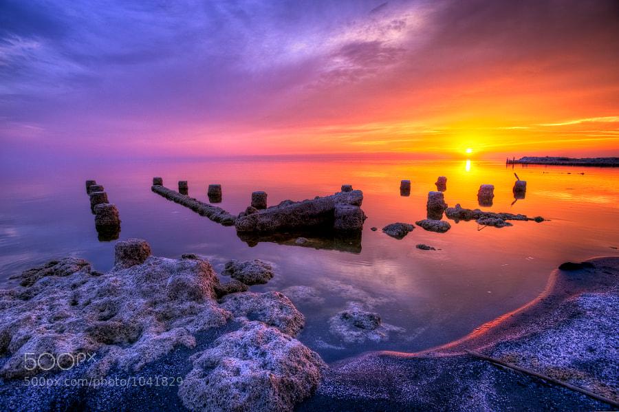 Bombay Beach Sunset