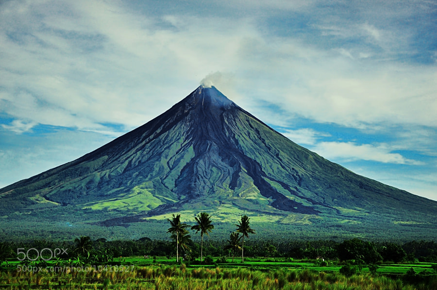 Photograph Mayon Volcano by Darius Ypanto on 500px