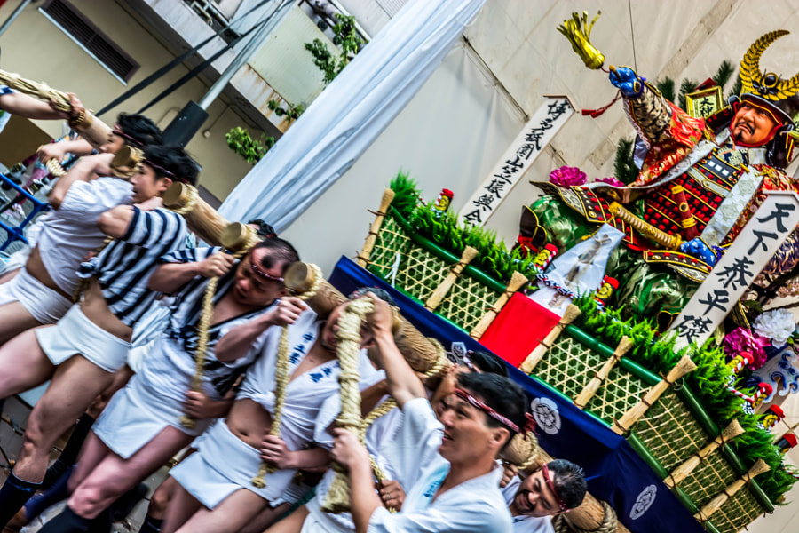 Photograph The Hakata Gion Yamakasa Festival by Takaaki Satoh on 500px