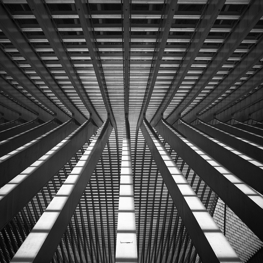 Photograph Lines and Shadows II by Bertrand CHOMBART on 500px