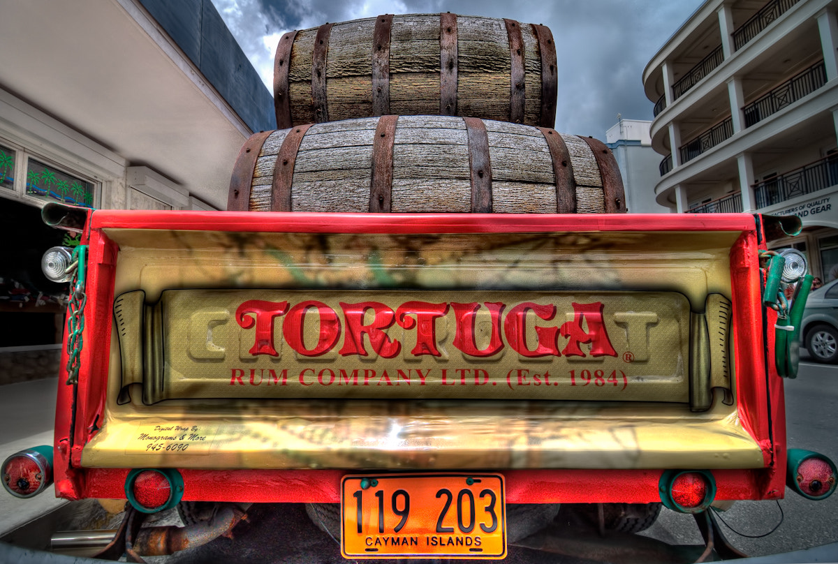 Photograph Tortuga Rum Truck-Grand Cayman by  Photo on 500px