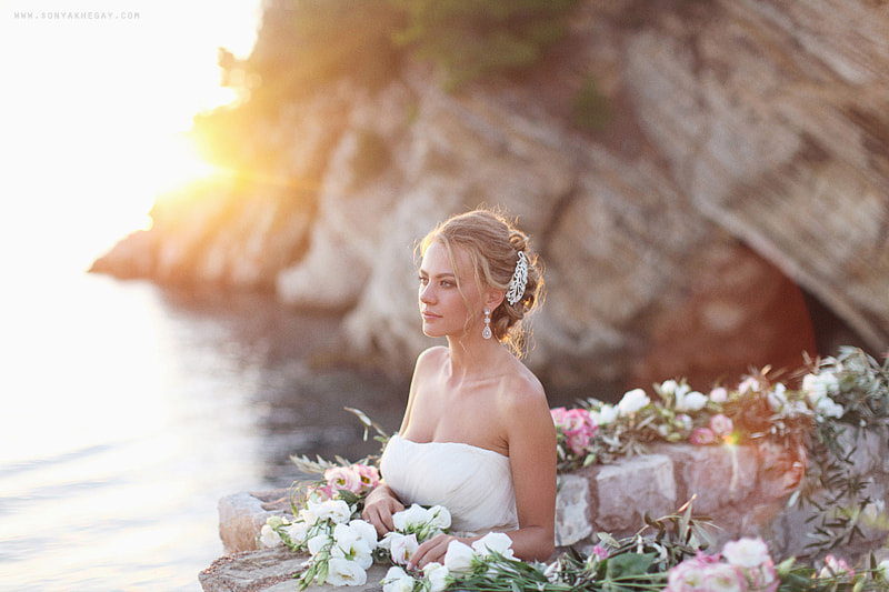 Photograph sunset bride by Sonya Khegay on 500px
