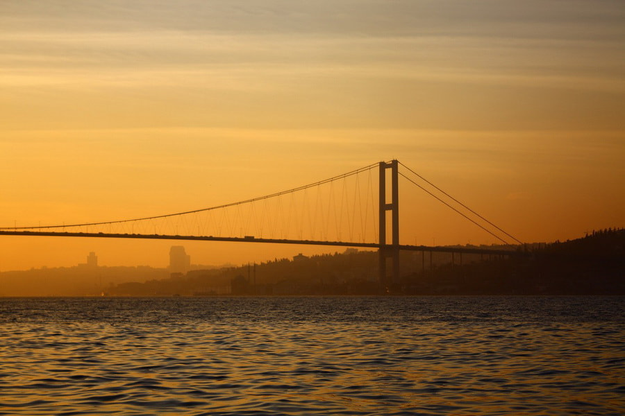 Photograph Evening in the Bosphorus by Guray Ugurlu on 500px