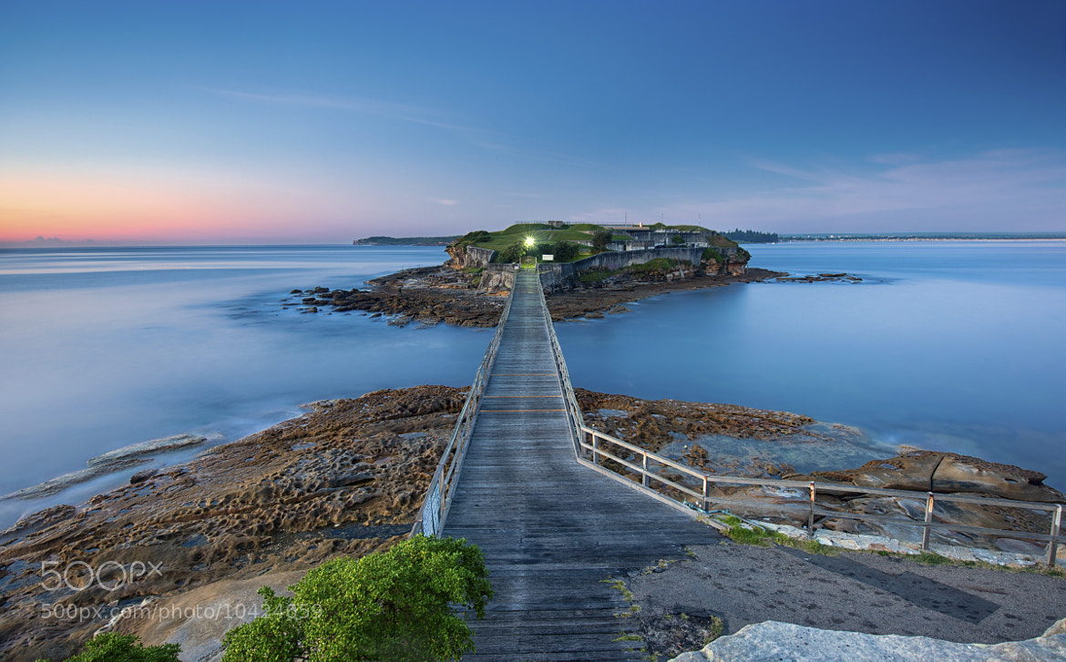 Photograph Bare Island Blues by Jay Daley on 500px
