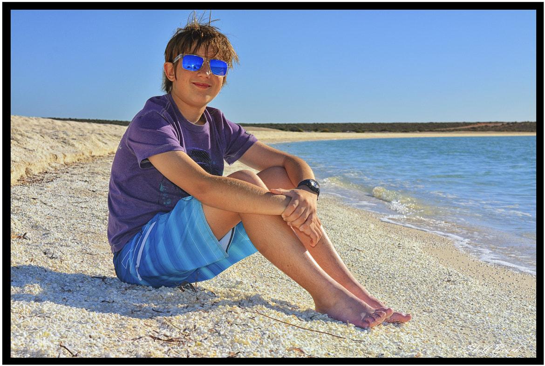 Photograph Mason on Shell Beach by Graeme Gordon on 500px