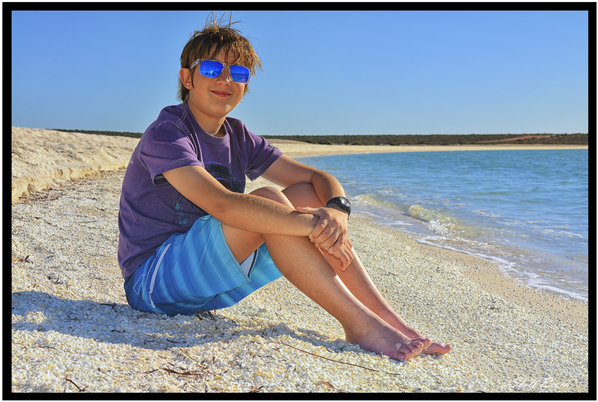 Photograph Mason on Shell Beach by Graeme Gordon on 500px