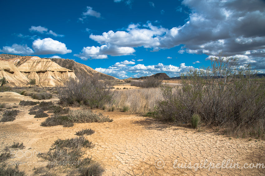 Photograph Bardenas Reales by Luis Antonio Gil Pellin on 500px