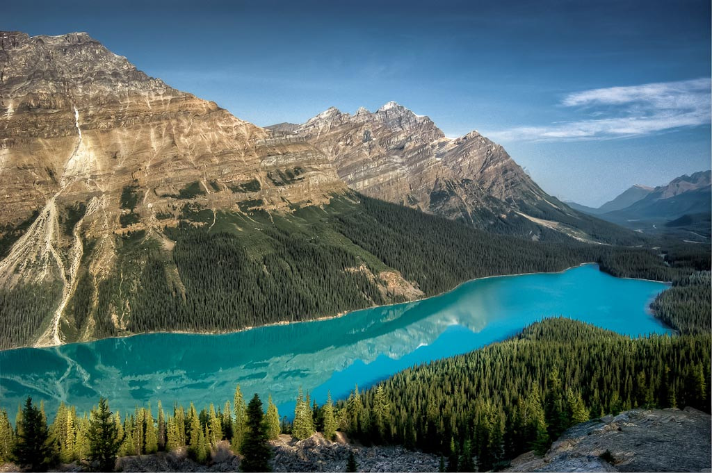 Photograph Early Morning at Peyto Lake by Len Saltiel on 500px