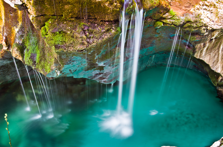 Soca Waterfalls by Cédric Catalogne on 500px