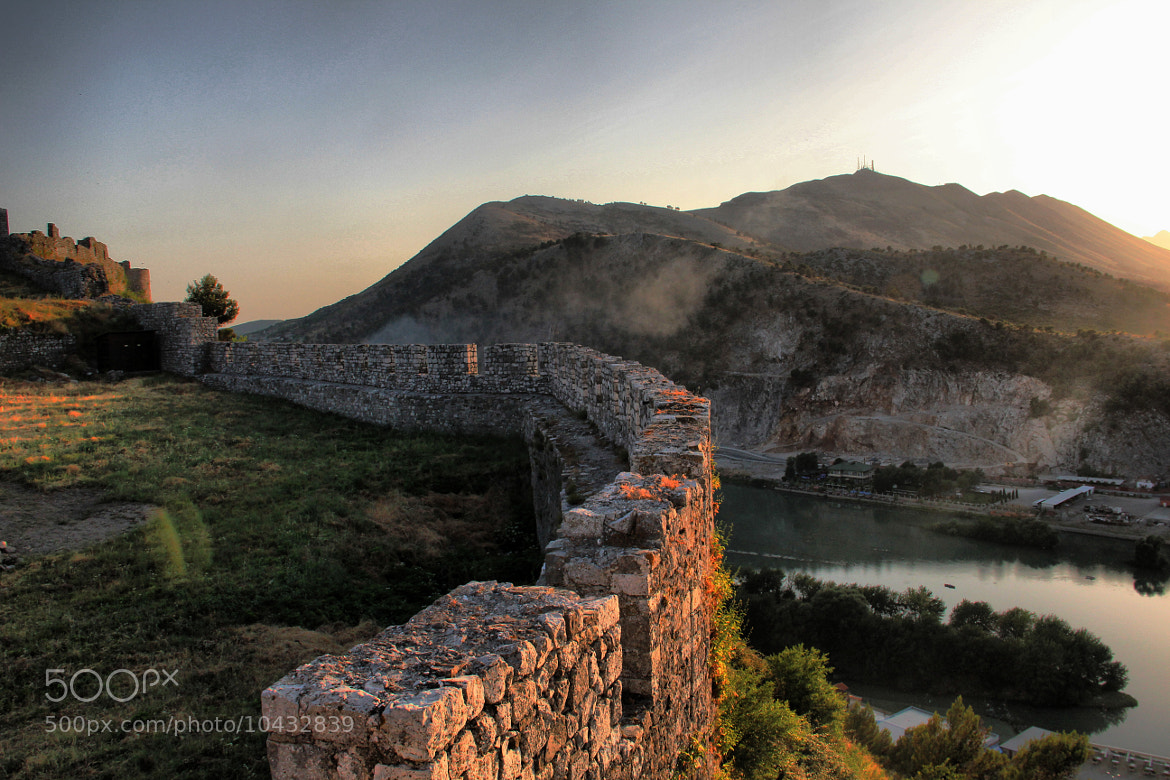 Photograph Rozafa Castle by Talha Çakır on 500px