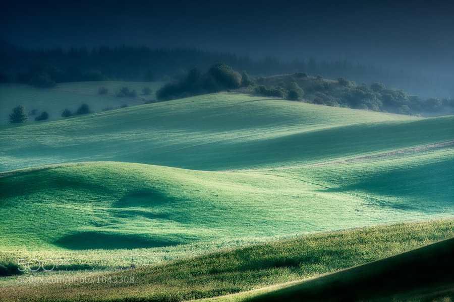 Photograph Morning meadows 1 by Zdeno Kostka on 500px