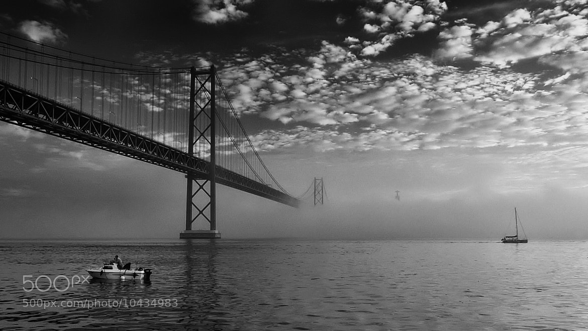 Photograph Up the river behind the light. by joaocarlo   on 500px