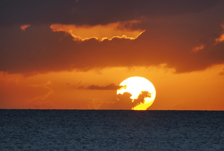 Photograph Sunset, Nevis by Nancy Lundebjerg on 500px