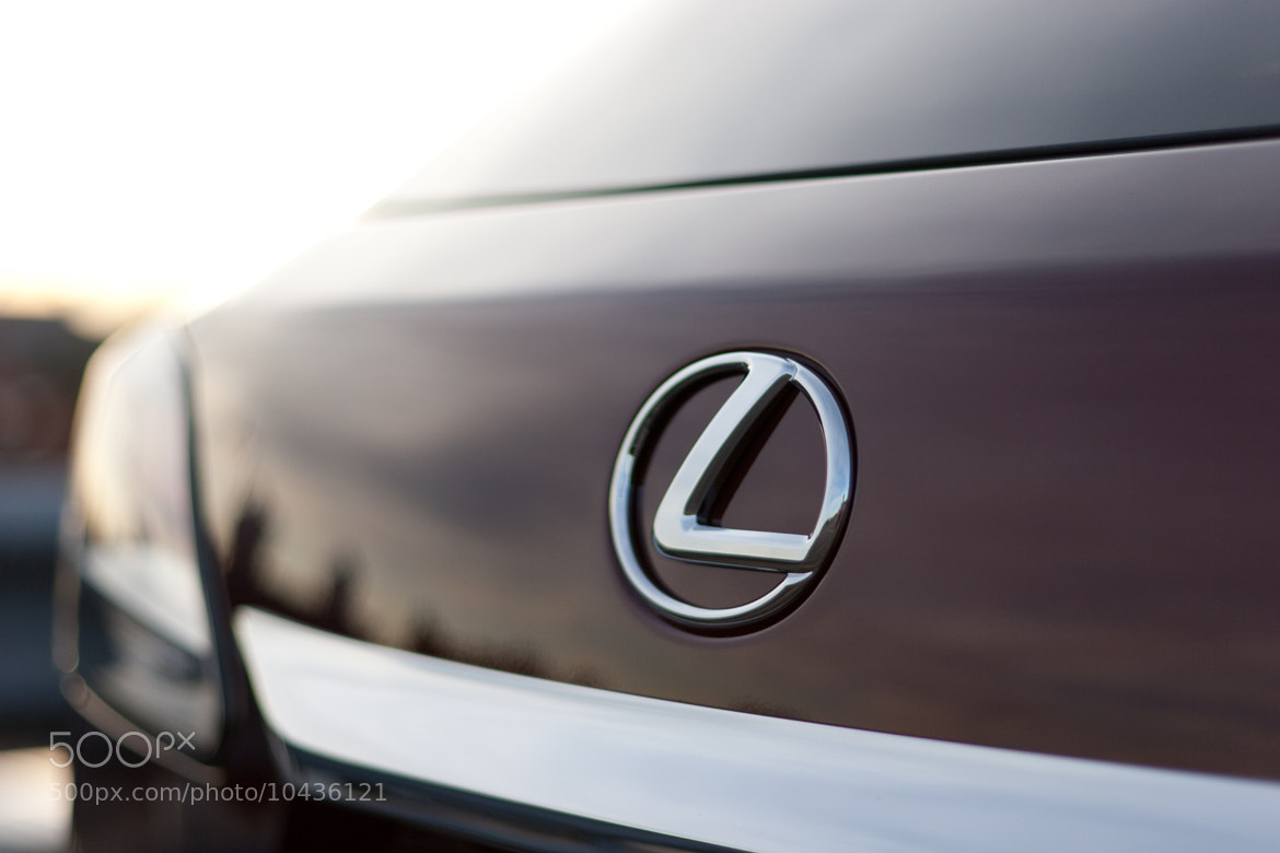 Photograph Lexus badge by Between The Axles on 500px