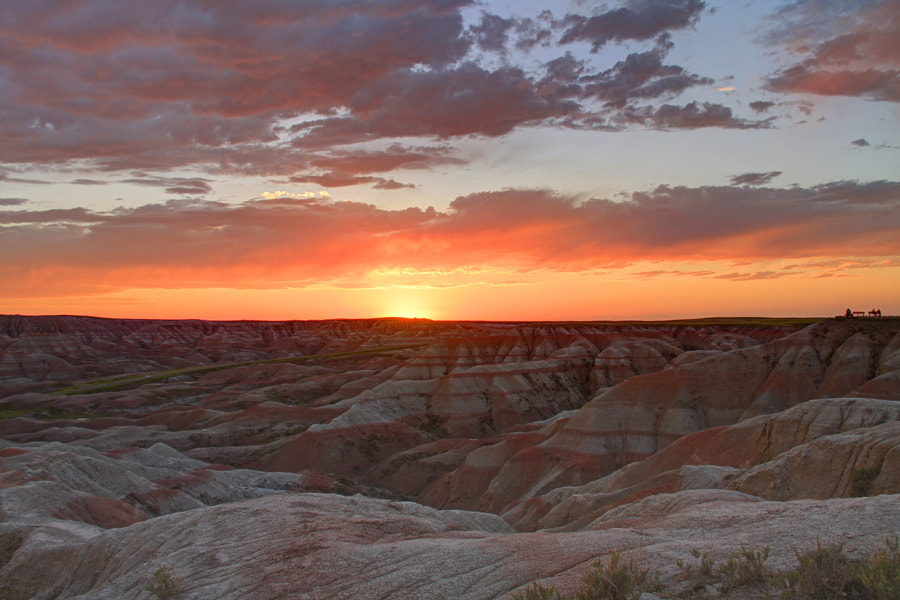 Photograph Moonscape Sunset by Matt Champlin on 500px