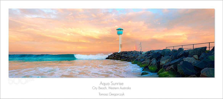 Photograph Aqua Sunrise by Tomasz Gregorczyk on 500px