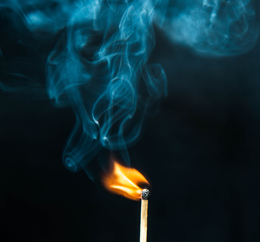 Match Flame Art by Hamza Sheikh on 500px.com