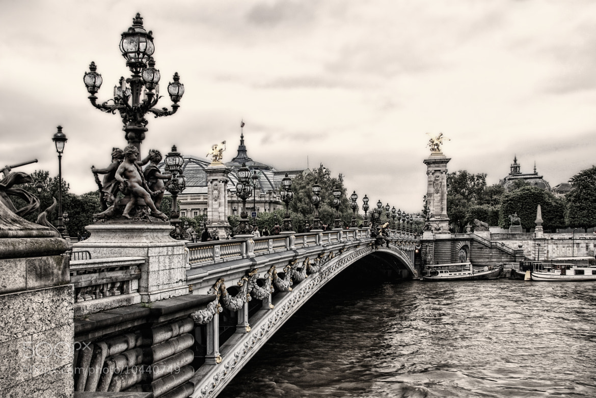 Photograph Pont Alexandre III Paris by Joachim G.  Pinkawa on 500px