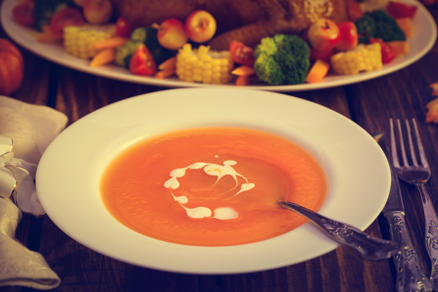 Delicious Pumpkin Soup by Igor Jovanovic on 500px.com