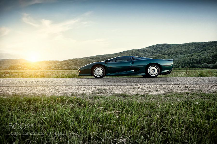 Photograph Jaguar XJ220 by Ivan Barinov on 500px