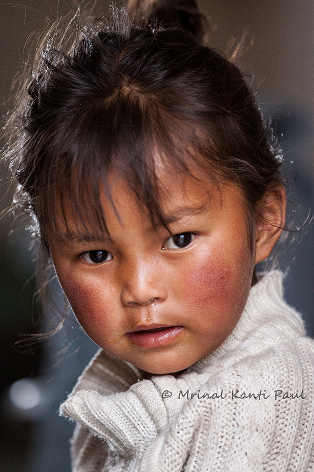 Photograph Little Ladakhi Angel by Mrinal Kanti Paul on 500px